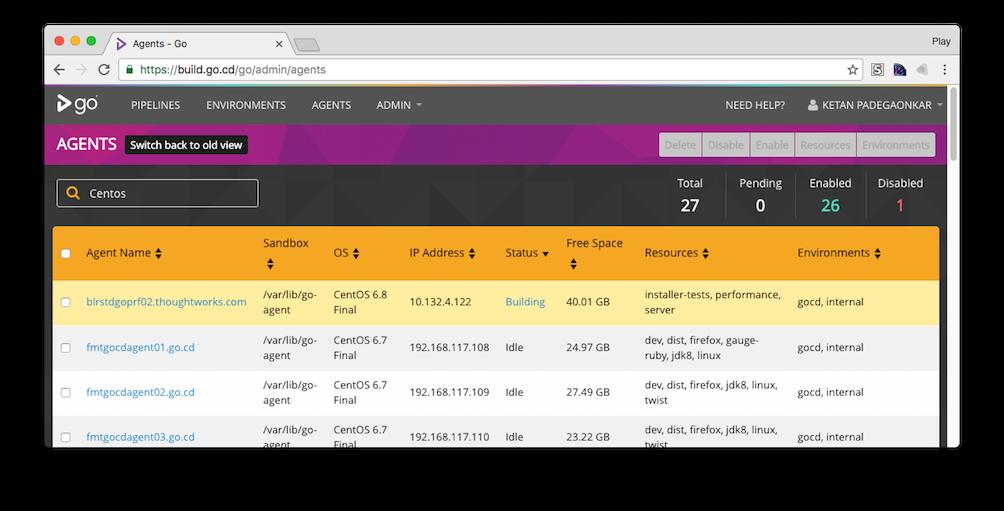 java/gocd's changelog at AllMyChanges com, release notes tracker